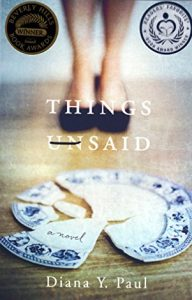 Book cover Things Unsaid
